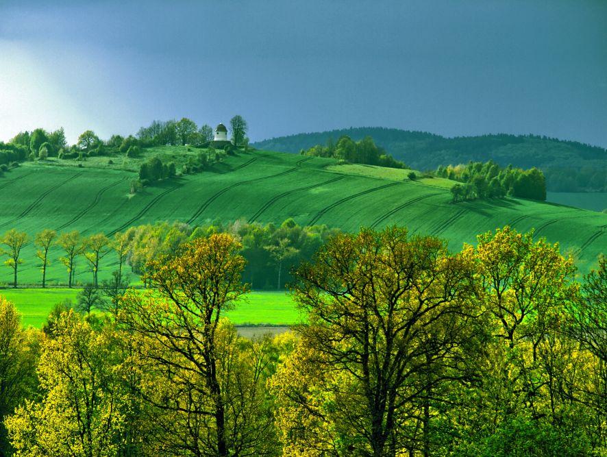 widok na Proszówkę. Zdjęcie Roberta Grzelczaka