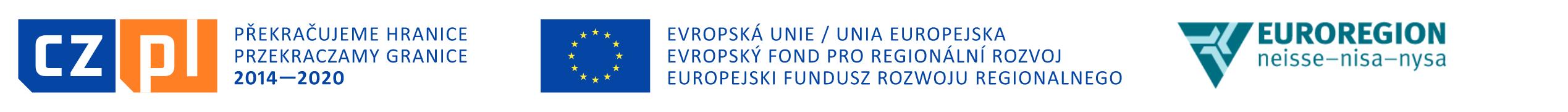 Logotypy programu Interreg V-A Polska-Czechy