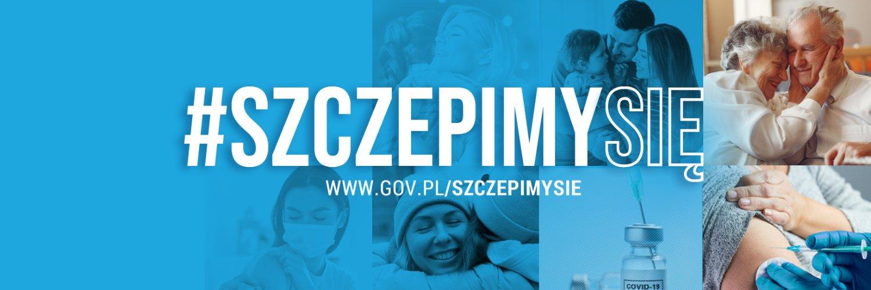 Plakat reklamujący szczepienia