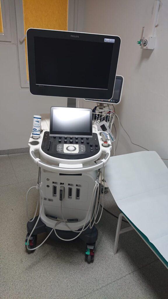 sprzęt USG w lwóweckim szpitalu