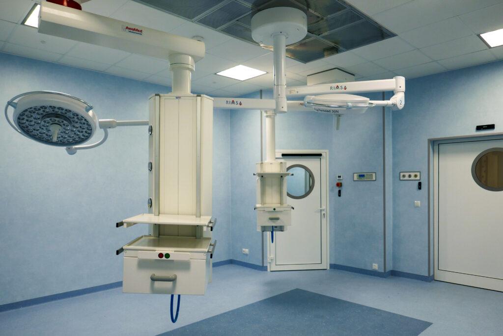 nowoczesny blok operacyjny w lwóweckim szpitalu