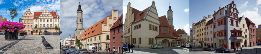 zdjęcia przedstawiające architekturę Lwówka Śląskiego. Fotograf Marek Chwistek, Milan Vokáty