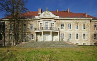 """Fot. Marek Chwistek """"Pałac w Lubomierzu"""""""