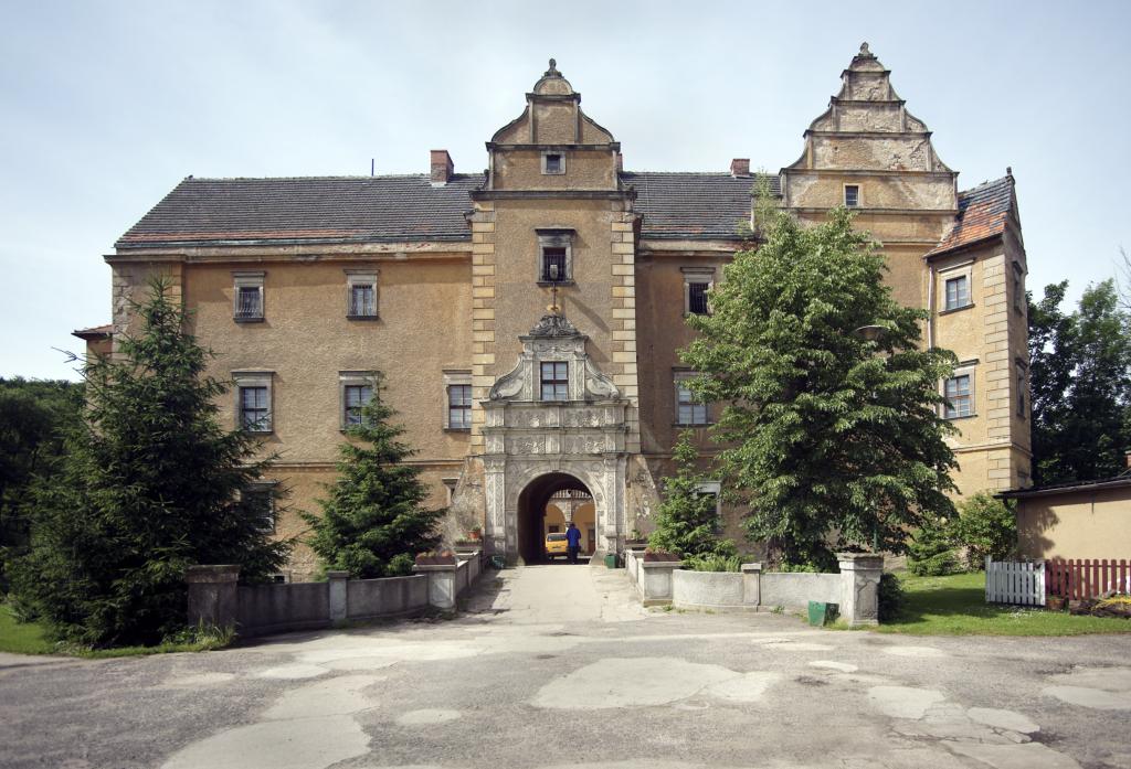 """Fot. Marek Chwistek """"Pałac w Płakowicach"""""""