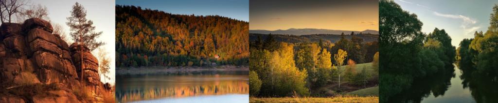 4 zdjęcia przyrody powiatu lwóweckiego