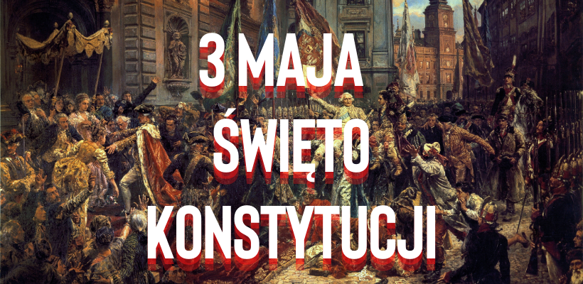 "Obraz Jana Matejki ""Konstytucja 3 maja"""