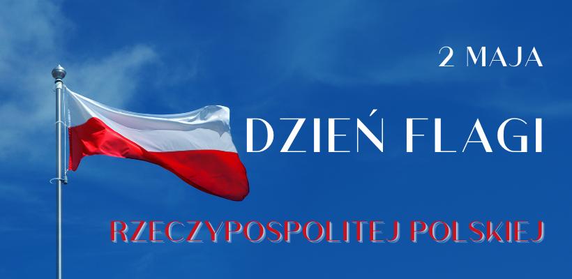 baner z flagą Polski