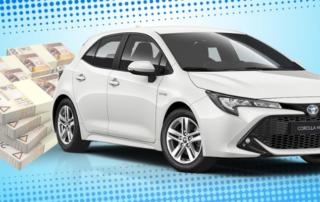 Główna nagroda- Toyota Corrola